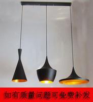 Fashion red black and white musical instruments art pendant light bar lamp dining room pendant light lighting