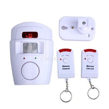 #Cu3 Home High Decibel Alarm With 2 Remote Control W
