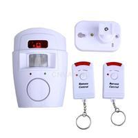 #Cu3 Home High Decibel Alarm With 2 Remote Control W