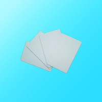 100 Blank Printable PVC Plastic Photo ID White Credit Card 30Mil CR80 free shipping