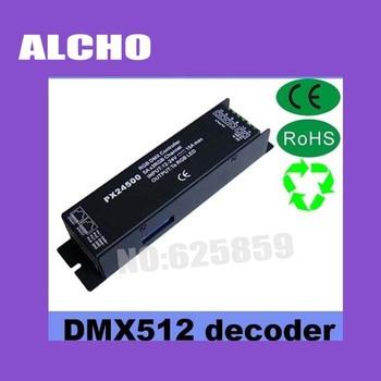 DMX Decoder & Driver IR RGB Control Controller for LED RGB Strip Light PX24500