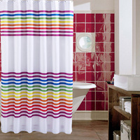 Terylene shower curtain waterproof thickening shower curtain thick fabric