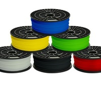 FREE SHIPPING / ABS 1.75mm/1.8mm Filament for 3D printer 6 PIECES