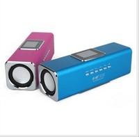 Music Angel JH-MAUK5 Mini Micro SD/TF+FM USB Speake with display