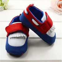 Hot sale,blue casual sports baby shoes soft sole toddler shoes non-slip pre-walker infants shoes,free shipping