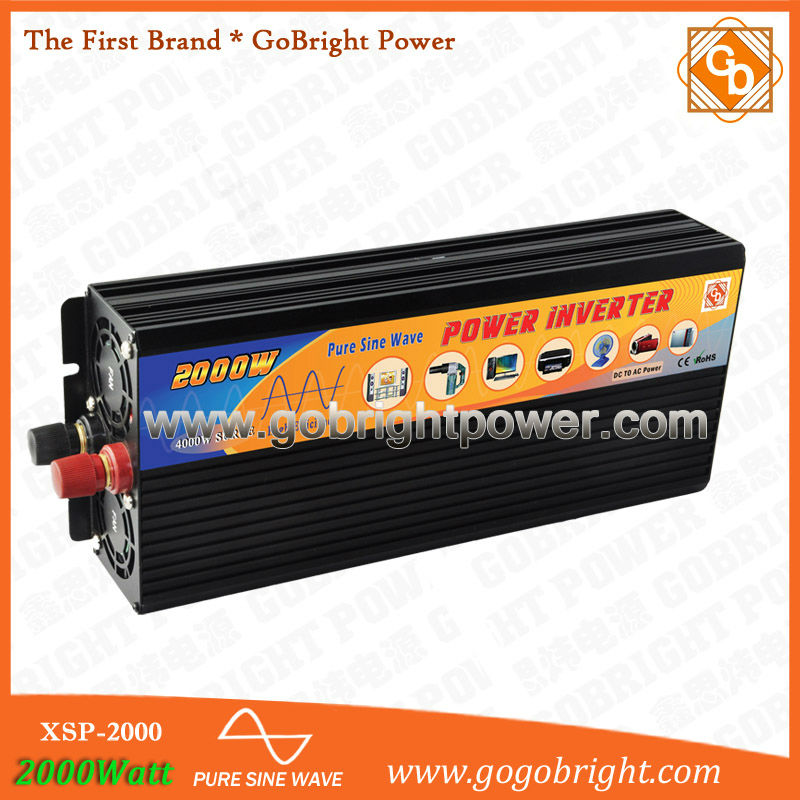 CF 2000W 24V power convertor for home application XSP-2000-24v(China (Mainland))