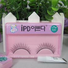 popular false eyelashes with glue