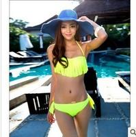 Free shipping New new arrival korean style push up bikini for women hot sale sexy european and American style swimwear