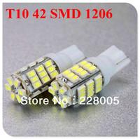 10X T10 White 1206 42 SMD LED Car Vehicle Wedge Light Bulb 194 927 161 168 194 927 161 168 W5W 147 152 158 159 161 168 184 White