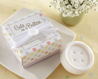 "Free shipping, 2010 KATE ASPEN wedding gift of ""Cute as a Button"" Scented soap, 20Pcs/LOT, wholesale or retail, wedding favor"