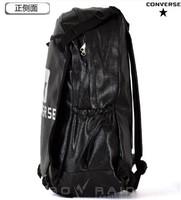 2013 male double-shoulder leather backpack PU teenage school bag vintage sports bag