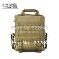 Outdoor multifunctional tactical bag tactical laptop bag backpack shoulder bag Camouflage bag
