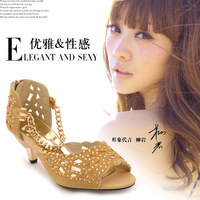 2014 moolecole gladiator style sandals fashion chain cutout czech diamond sandals