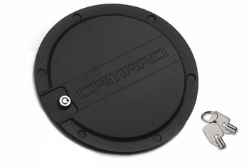 2010 2011 CHEVY CAMARO BLACK GAS CAP FUEL DOOR COVER