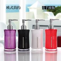 Diamond acrylic bathroom supplies hand sanitizer bottle shower gel bottle lotion bottle wash set bathroom
