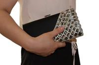 Day clutch female 2013 clutch women's handbag fashion luxury rhinestone diamond-studded evening bag evening bag banquet bag