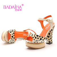 Free Shipping!New Arrived Fashion Women's Dot Printed High-heel Shoes Casual Female High Heel Shoes CLSBDN-NEW-012-1