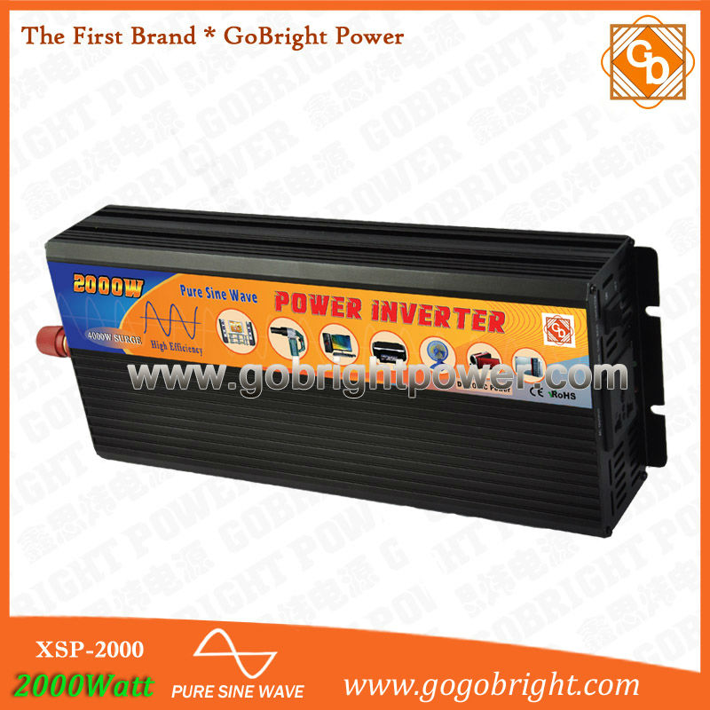 CF 2000W 24V intelligent power convertidor for household XSP-2000-24v(China (Mainland))