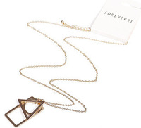 DY486 Vintage Choker Necklace ,Fashion Trangel Chunky Jewelry ,For Women,2013 New Arrival Fashion