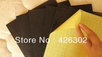 "11""x14""x 3/16"" Self Adhesive Foam Board black on black 20pcs/pack"