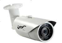 IPS New H264 0.5lux 30M IR distance Day&Night Waterproof Infrared IP Bullet Cameras with POE(IPS-EA1811)