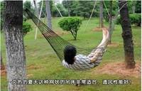 Overstretches nylon hammock reticularis mini hammock outdoor swing storage bag