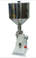 Free Shipping -Manual Tomato Sauce Filler , Paste Filling Machine 5-50ml in high quality A03