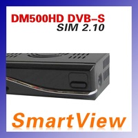 1pc dm 500HD decoder  with SIM2.10 Card support Linux TV API  500hd DVB-S satellite receiver free shipping