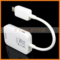 HOT TV out MHL cable HDTV adapter for Samsung Galaxy S4 S3 Note 2 n7100 HDMI Cable