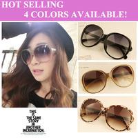 Fashion women's sunglass,Big Frame eyewear,girls eyeglass UV400 ,4colors High Quality fashion design Sunglass Free Shipping