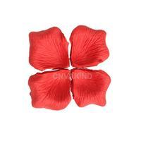 #Cu3 144 Pcs Red Simulation Rose Petals For Wedding Decor Wedding Rose Petals
