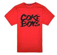 skateboard t-shirt coke t-shitrs boys fashion hiphop clothing t-shirt short-sleeve T-shirt men's clothing
