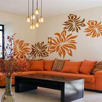 Flower flower five petal flower romantic bedroom wall decoration 3938