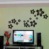 Redbud1 flower bedroom wall glass stickers 3949