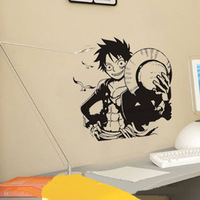 Luffy series fashion exude cartoon living room decoration 3744