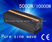 5000W (MAX 10000W)Pure Sine Wave Home Inverter DC 12V/24V to AC 220V Solar Invertor (CTP-5000W)