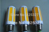 LED COB Corn Bulb High Power 8W SMD Light 220V E27 E14  Free Shipping 100 pcs/lot