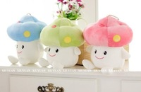 free shipping 1X lovely soft mushroom Super Mario plush toy children chiristmas day gift 20cm