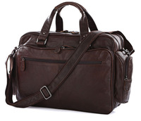 Vintage Genuine real leather  Men buiness handbag  laptop briefcase  shoulder Travel bag  / man  messenger  bag  JMD7150-363