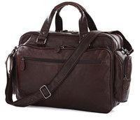 Vintage Genuine real leather  Men buiness handbag  laptop briefcase  shoulder Travel bag  / man  messenger  bag  JMD7150-363
