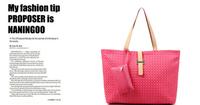 2013 fashion PU shoulder bags women handbag women tote bags free shipping, LL102