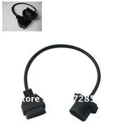 Best selling mazda 17 pin for OBD 16Pin FEMALE TO mazda 17pin connector with high quality freeshipping