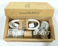 Top quality UK US EU version packing box for samsung Galaxy S4 i9500 package box with full accessories 50pcs/lot free shipping