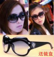 Anti-uv 3043 women's fashion sunglasses gradient sunglasses big box sunglasses m33