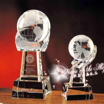 Crystal globe dash globe supplies quality decoration crafts