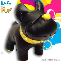 luft genuine _The Pups_Bully_ bulldog / dog _ doll / doll / toy / model / doll best gift for kids(China (Mainland))