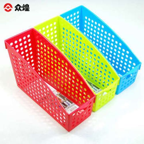 Vertical file holder storage box desktop storage basket supplies glove box(China (Mainland))