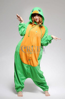 Unisex Adult Kigurumi Anime Costume Pajamas Onesies for adults hooded animal costumes Pyjamas Coral Fleece onesie Adult,Turtle