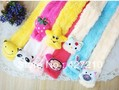 Children's fashion plush cartoon warm scarf collar(China (Mainland))