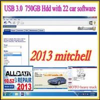 22 in1 750G hdd!!Alldata 10.52+2013 Mitchell Ondemand+ELSAWIN+ transmission+manager+heavy truck+ETKA+ATRIS+ ESI+ medium truck+